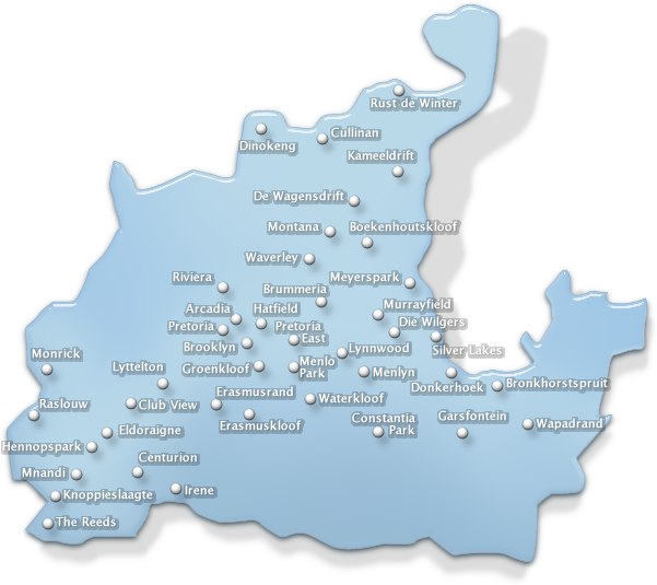 conference venues in Greater Pretoria region of Gauteng, South Africa