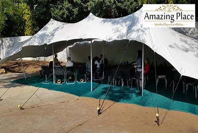 The Amazing Place Tent Conference Room