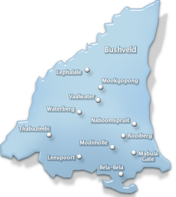 conference venues in Bushveld region , limpopo province