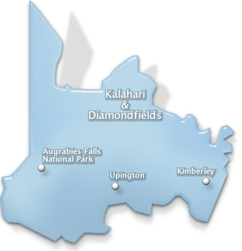 conference venues in Kalahari  and Diamond Fields region of Northern Cape , south africa